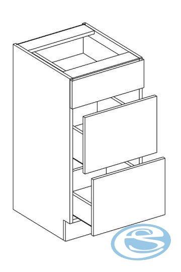 Alina dolní kuchyňská skříňka D40S/3 - STOLKAR