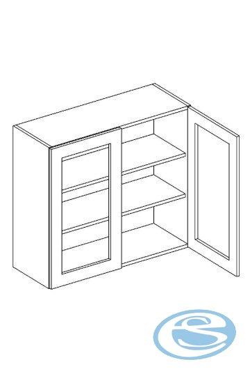 Alina horní kuchyňská skříňka WS80 - STOLKAR