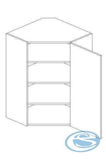 Alina horní kuchyňská skříňka WR92 - STOLKAR
