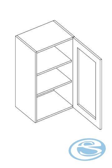 Alina horní kuchyňská skříňka WS40 - STOLKAR