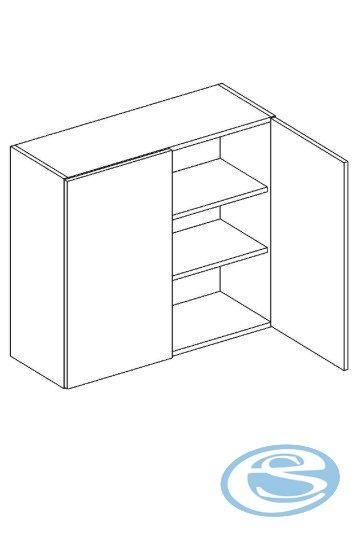 Alina horní kuchyňská skříňka W80 - STOLKAR
