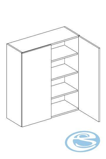 Alina horní kuchyňská skříňka W80/92 - STOLKAR