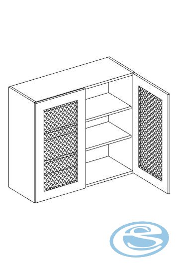 Alina horní kuchynská skříňka W80K - STOLKAR