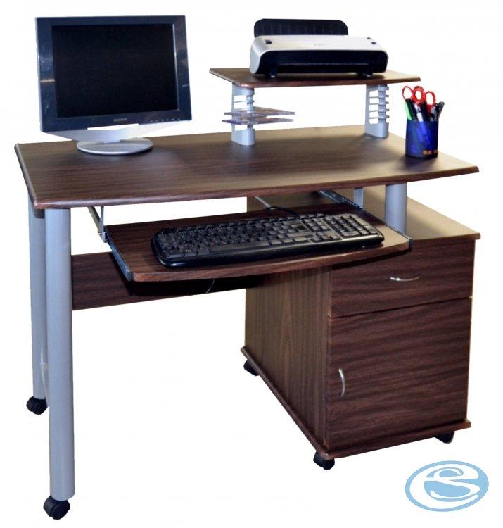 PC stůl CT-2631 ořech - FALCO