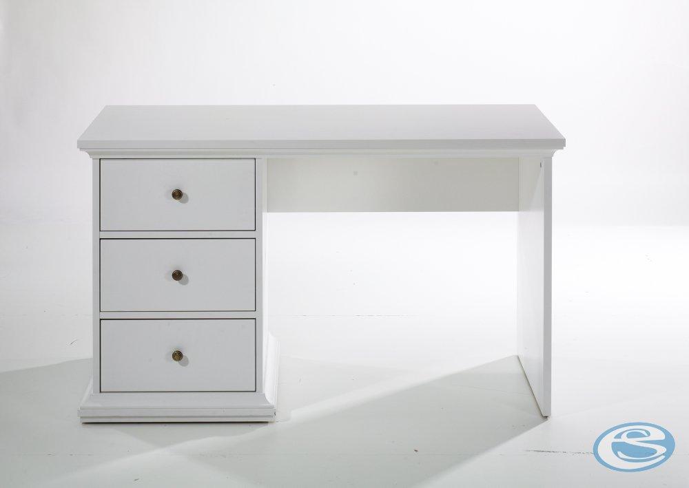 Tvilum Psací stůl Paris 77820 bílý - TVILUM
