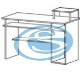 Tvilum Psací stůl Function 80029 - TVILUM