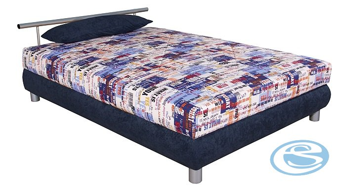 Čalouněná postel Adriana 110x200 - BLANAŘ