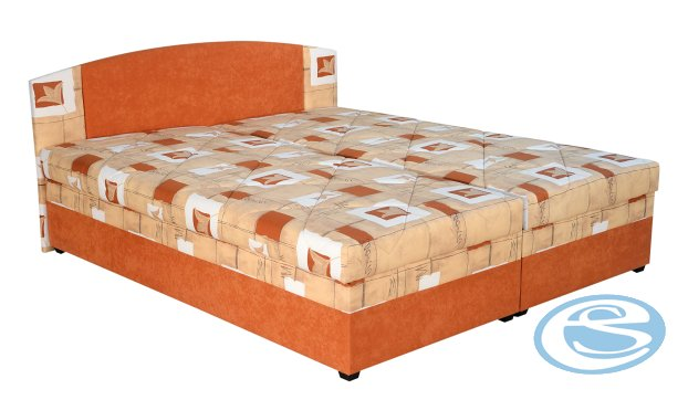 Čalouněná postel Kappa II 160x200cm - BLANAŘ