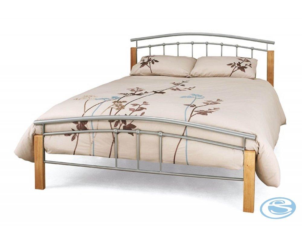 Kovová postel Mirela 160x200 s roštem - FALCO
