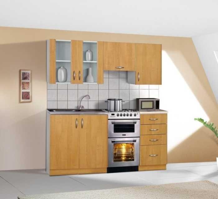 Kuchyňská linka Sára 120/180 cm olše - FALCO
