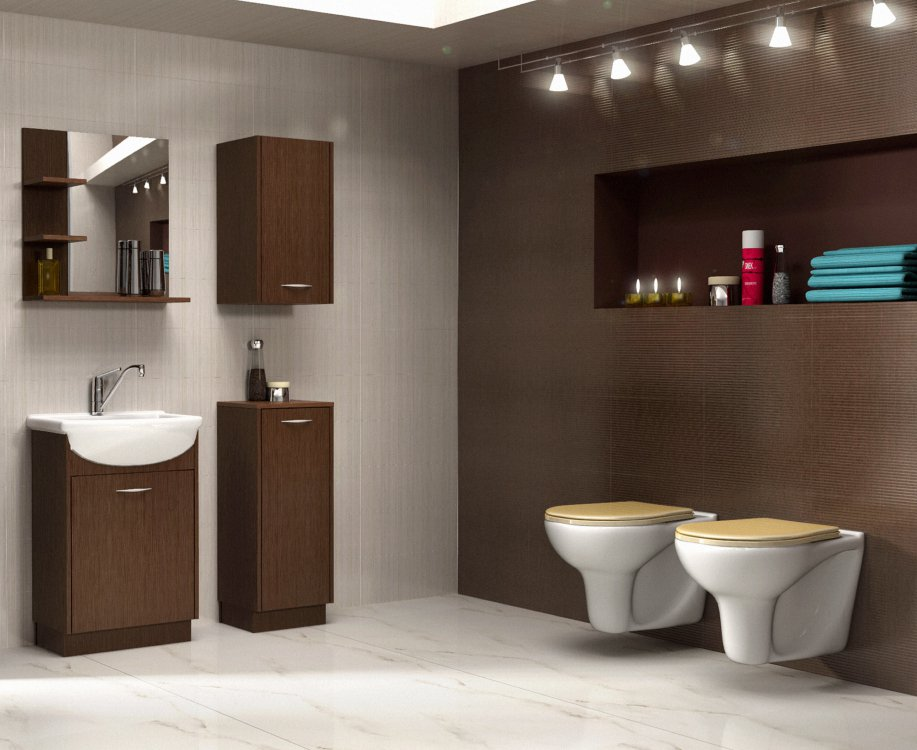 Koupelnový nábytek Nancy wenge - FALCO