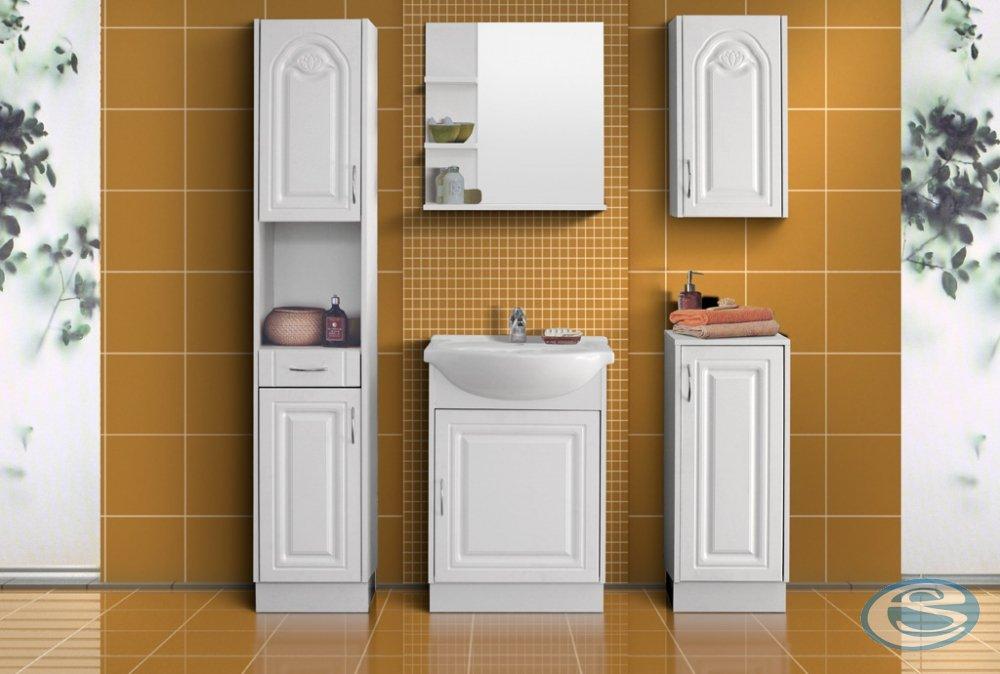Koupelnový nábytek Nancy MDF bílá/tulipán - FALCO