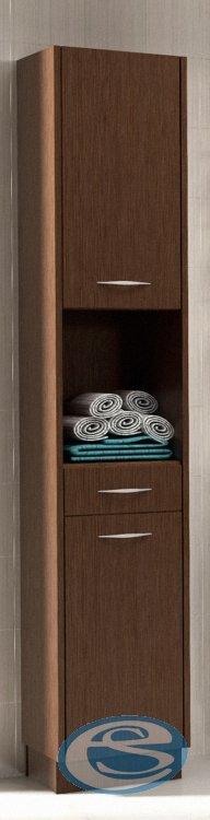 Koupelnová skříňka vysoká Nancy-wenge - FALCO