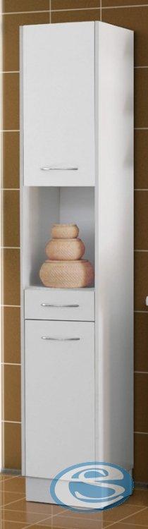 Koupelnová skříňka vysoká Nancy-bílá - FALCO