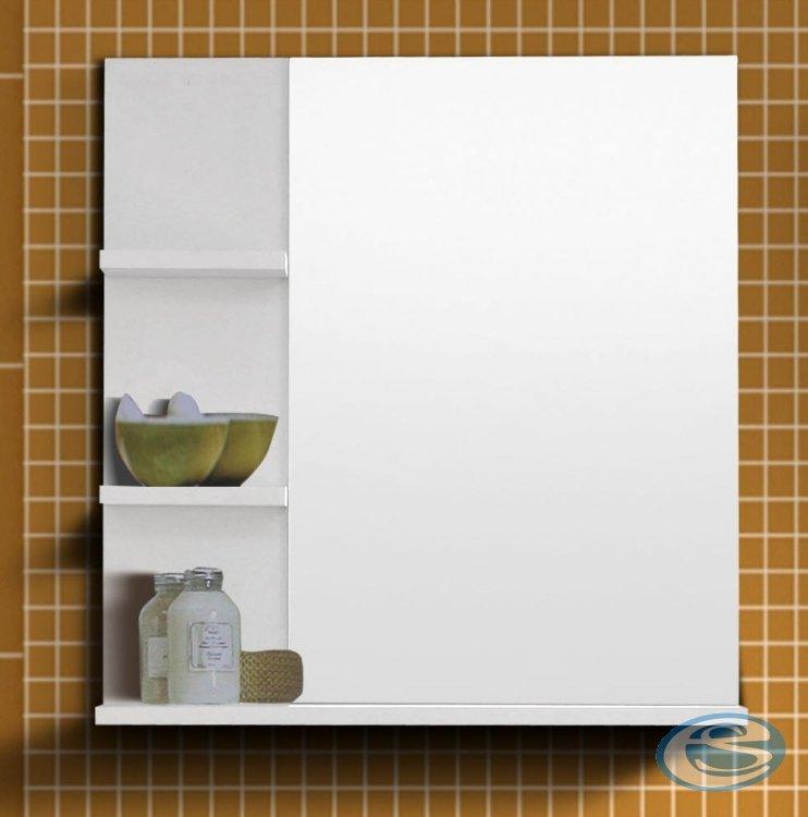 Koupelnové zrcadlo Nancy bílé - FALCO