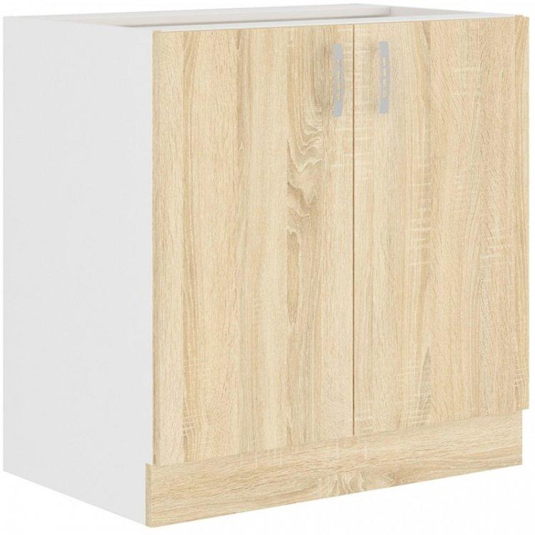 Sára dolní skříňka 80D bílá/dub sonoma - FALCO