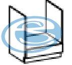 Limed skříňka na vestavnou troubu 60DG - FALCO
