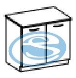 Kora dolní skříňka 80D - FALCO