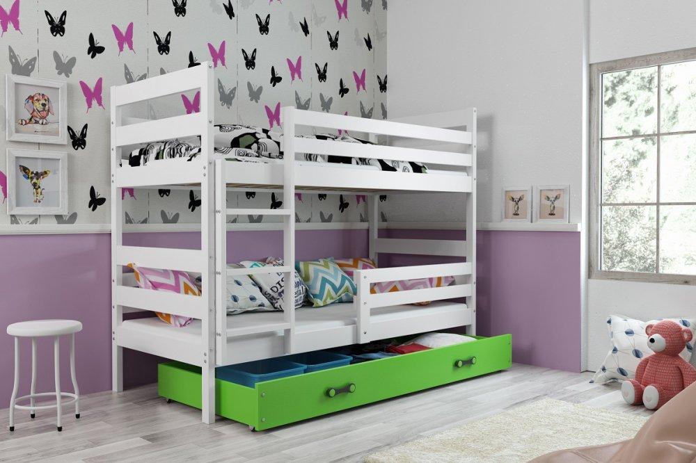 Dětská patrová postel Eryk - BMS