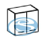 Dominika horní skříňka 80G - FALCO