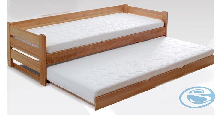 Dětská rozkládací dřevěná postel For 2 - GABI