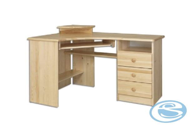 Rohový psací stůl BR107 - Drewmax