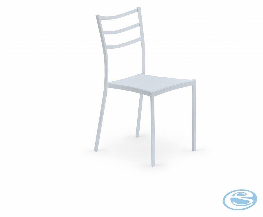 Jídelní židle K159 bílá - HALMAR