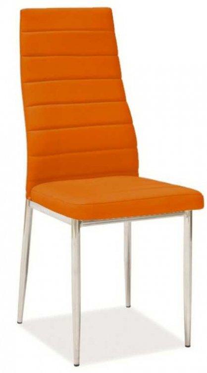 Jídelní židle H-261 oranžová - FALCO