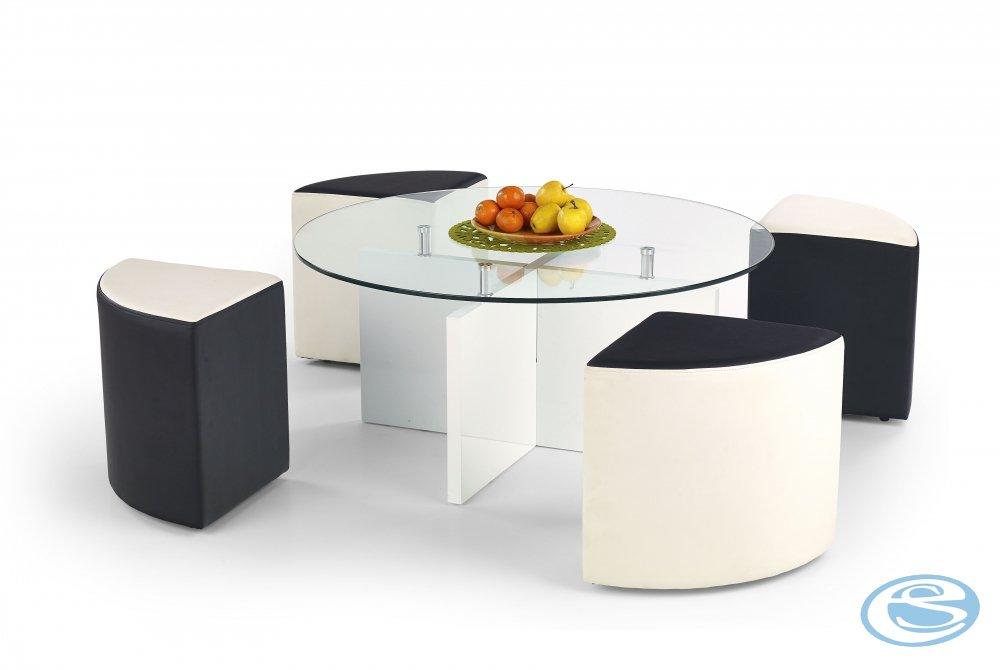 Konferenční stolek Latoya - HALMAR