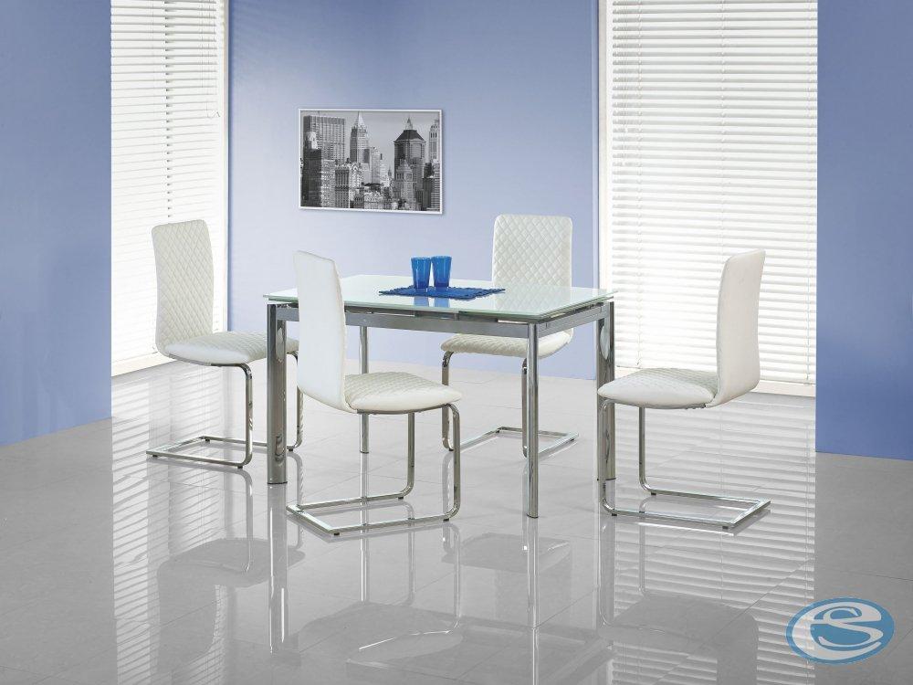 Rozkládací jídelní stůl Lambert bílý - HALMAR