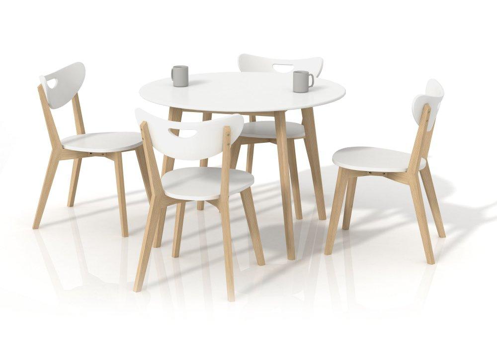Jídelní stůl Peppita kulatý - HALMAR