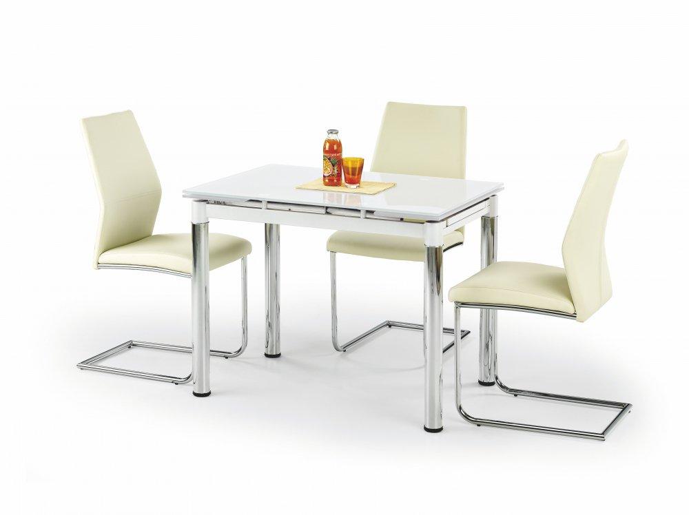 Rozkládací jídelní stůl Logan 2 bílý - HALMAR