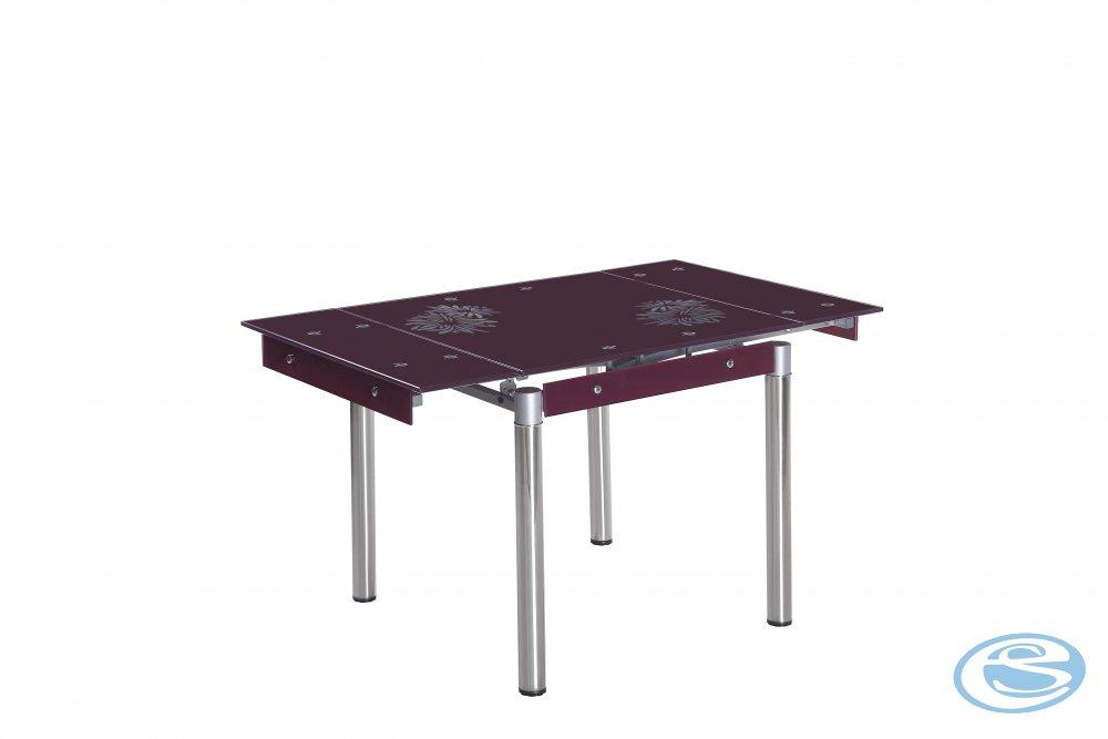 Rozkládací jídelní stůl Kent fialový - HALMAR