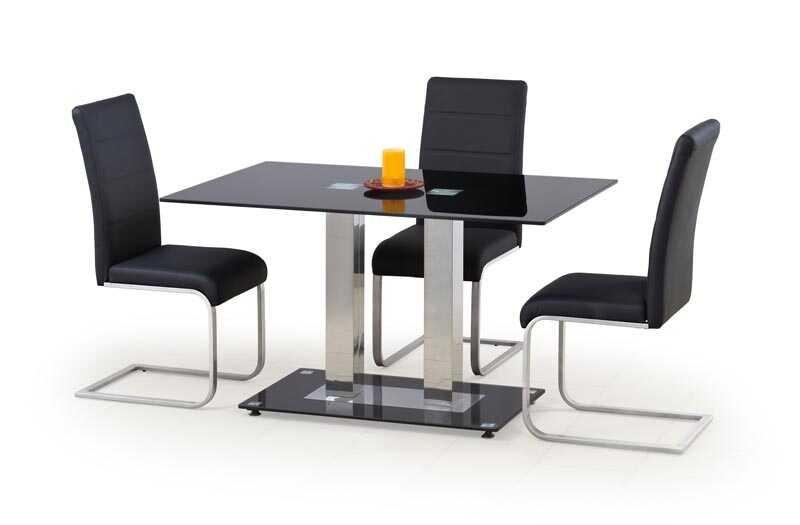 Skleněný jídelní stůl Walter 2 - HALMAR