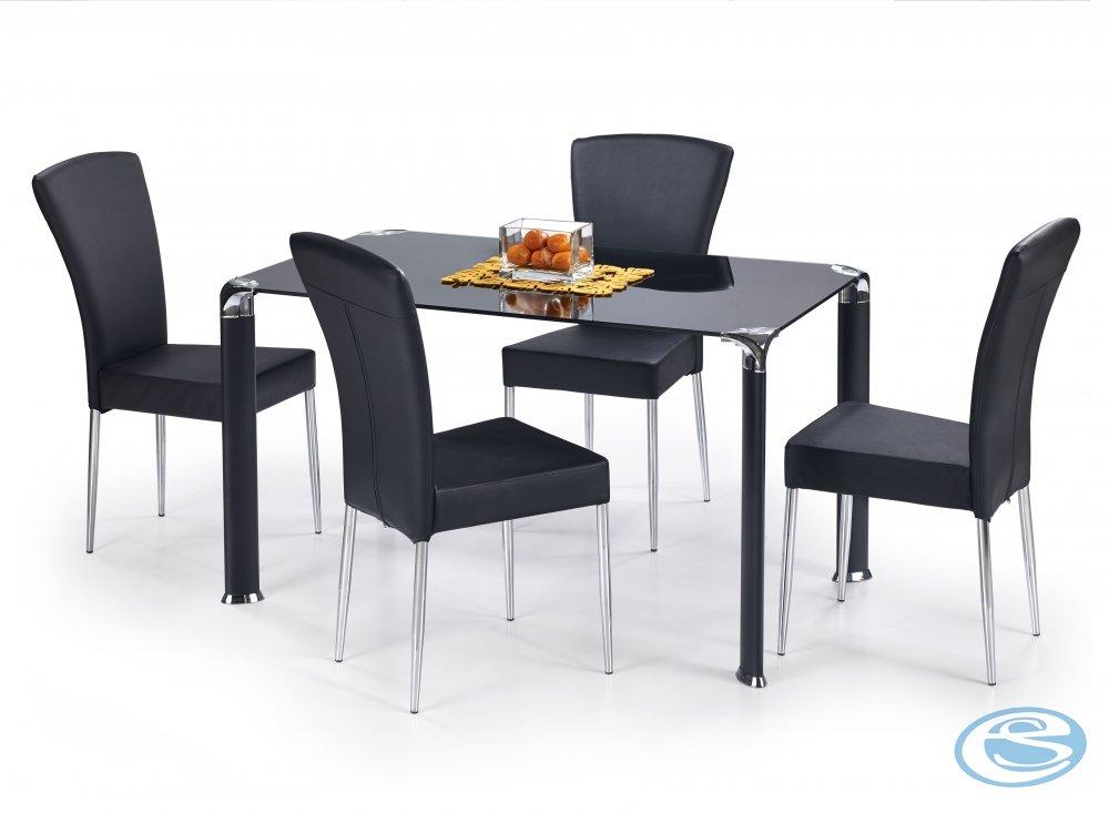 Skleněný jídelní stůl Jim - HALMAR