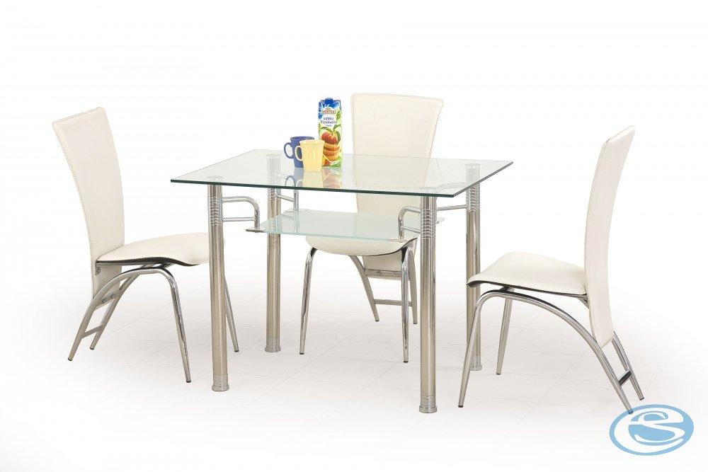 Skleněný jídelní stůl Erwin - HALMAR