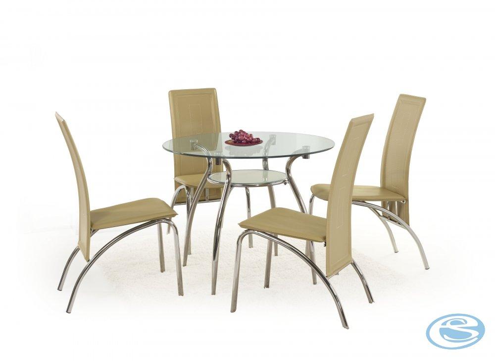 Skleněný jídelní stůl Adam - HALMAR