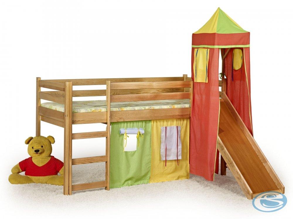 Dětská postel Flo olše - HALMAR