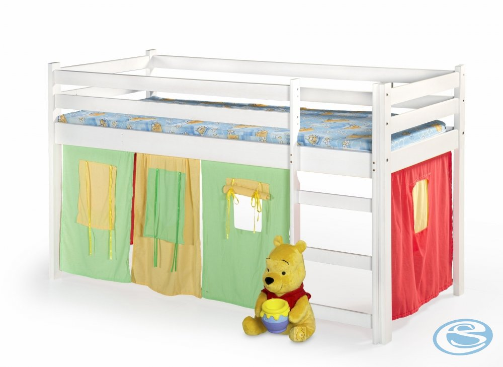 Dětská postel Neo bílá - HALMAR