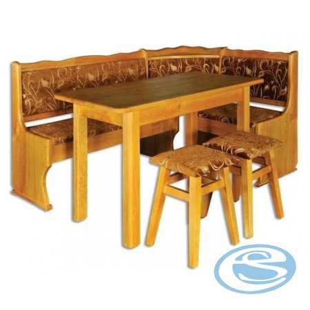 Rohová lavice-set NR112 - Drewmax