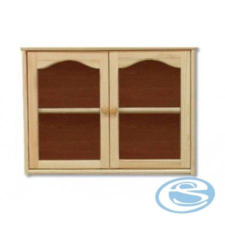 Závěsná skříňka-vitrína KW105 - Drewmax