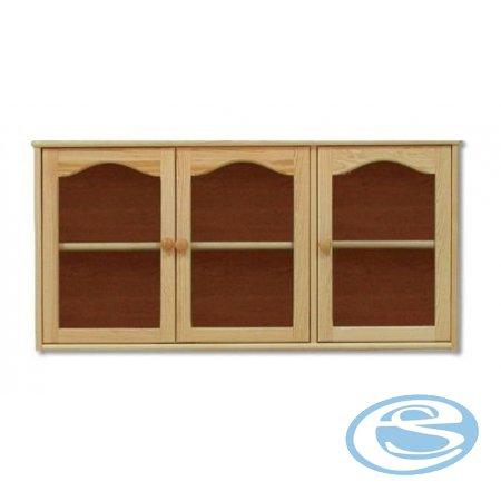 Závěsná skříňka-vitrína KW106 - Drewmax