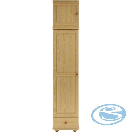 Šatní skříň s nádstavcem SF125 - Drewmax