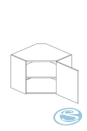 Luka kuchyňská skříňka horní rohová WR - STOLKAR