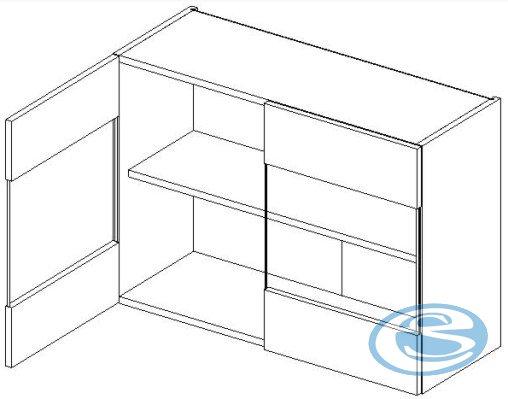 Luka kuchyňská skříňka horní WS80 - STOLKAR