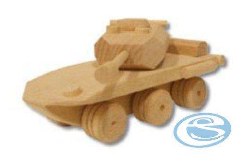Dřevěná hračka tank AD104 - Drewmax