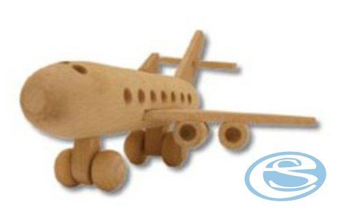 Dřevěná hračka letadlo AD109 - Drewmax