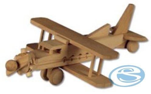 Dřevěná hračka letadlo AD113 - Drewmax