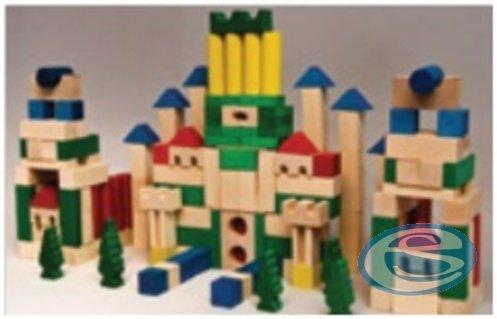 Dřevěná stavebnice kostky - Drewmax