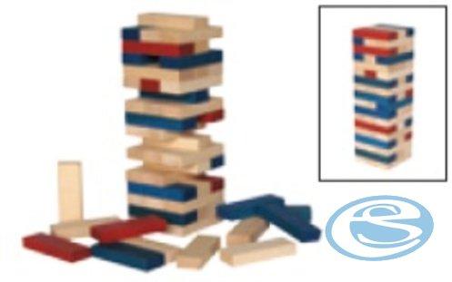 Dřevěná stavebnice kostky AD416 - Drewmax